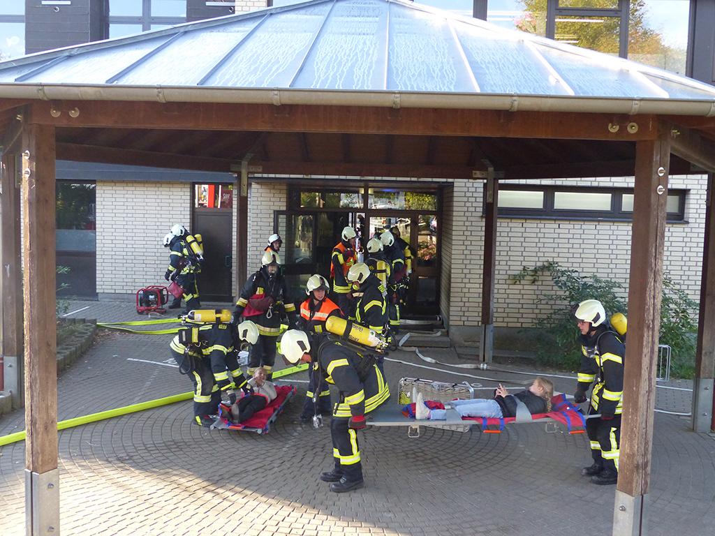 Feueralarmübung 2018