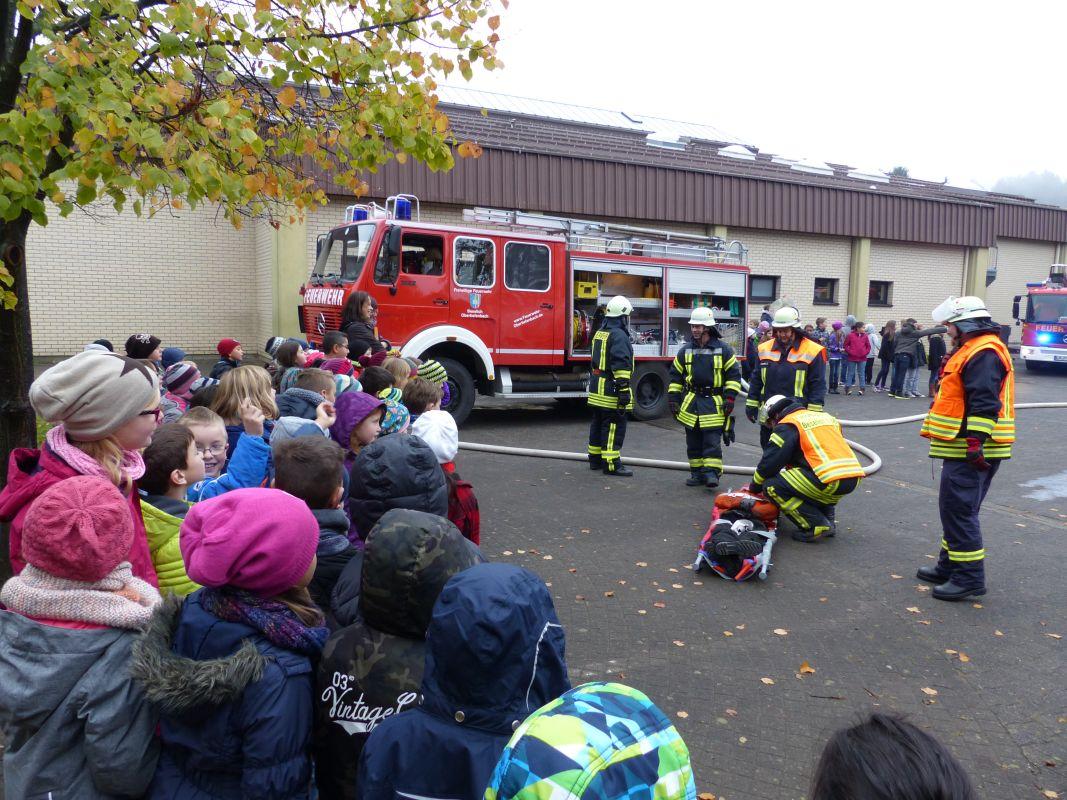 Feueralarmübung 2015