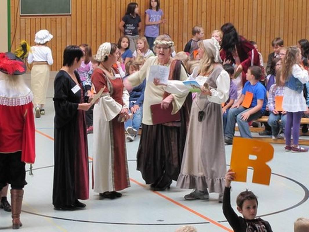 Mittelalterliches Schulfest 2011